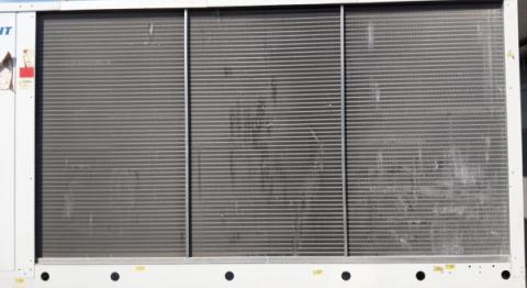 АтомИнжСервис: Восстановление ламелей конденсатора чиллера