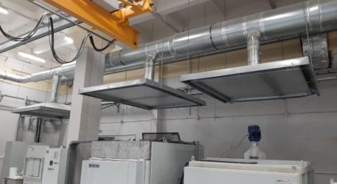 АтомИнжСервис: Монтаж вытяжной системы вентиляции